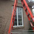 Installation de fenêtres à battants à St-Augustin (Québec)