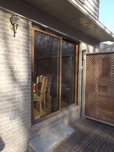Installation de porte patio à Québec