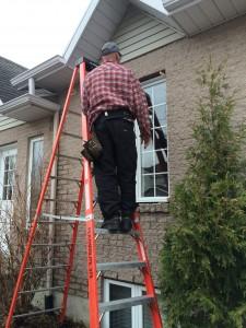 Prix pour installation de fenêtres à battants