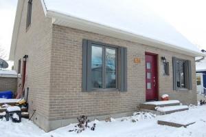 Remplacement de portes et fenêtres à St-Augustin