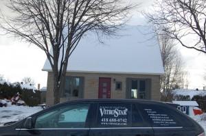 Installation de fenêtres et porte de maison