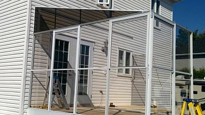 installation solarium 3 saisons