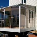 Photos d'installation de solariums à vendre à Québec | 3 ou 4 saisons