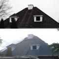 Rénovation de la toiture d'une maison par Vitrostar, entrepreneur en rénovation résidentielle